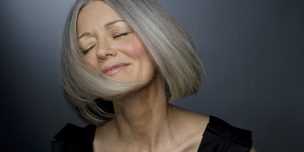 Middle-aged woman shaking head - It is Never too Late to Start Managing the Aging Process blog post