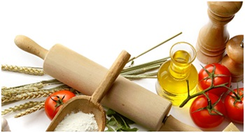 Oil, spices, tomatoes, rolling pin - What is metabolic balance®? blog post