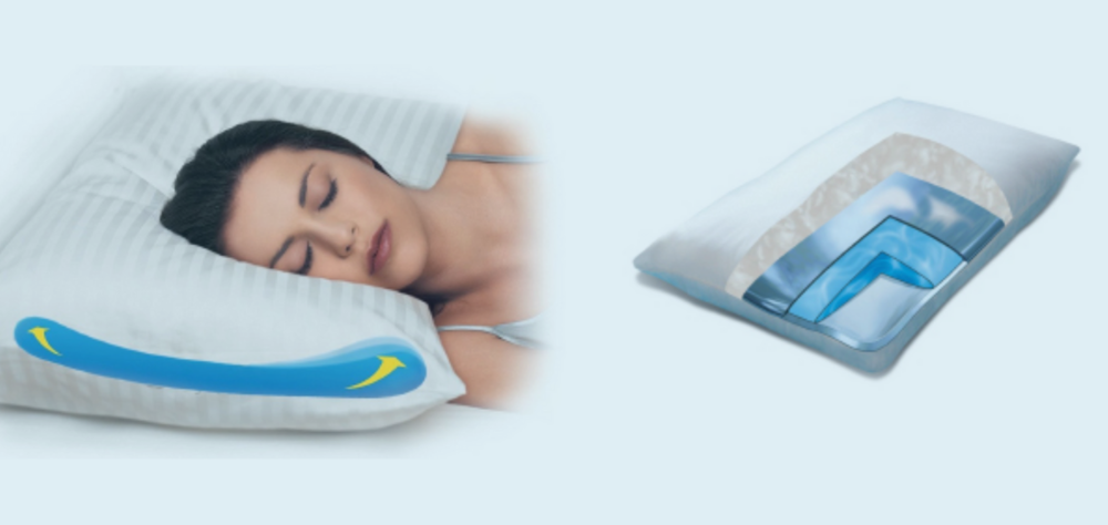 Cervical Water Pillow by Mediflow